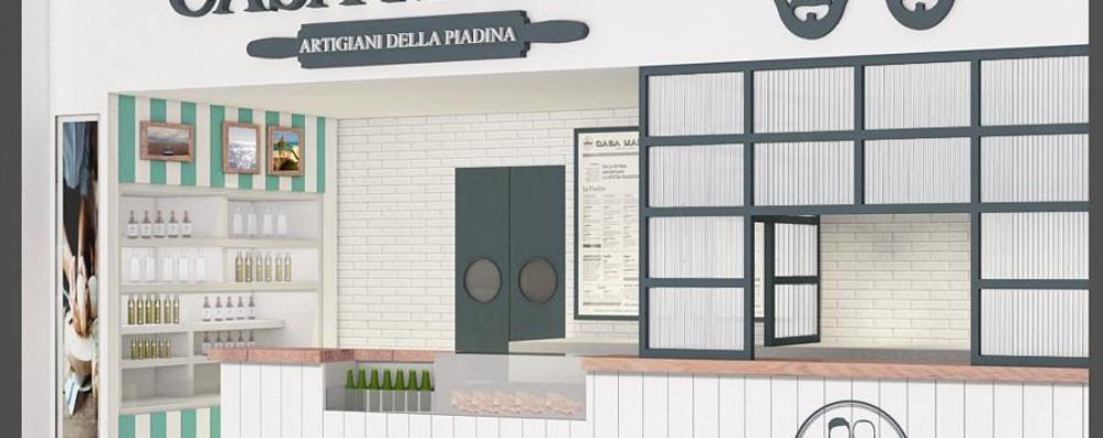 Bergamo e Orio al gusto di piadina Percassi apre con i Fratelli Maioli