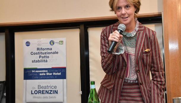Lorenzin: premio coalizione è via giusta