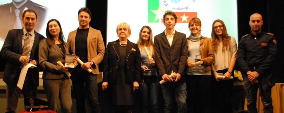 Luigi d'Andrea, ecco i premiati - Foto Riconoscimenti a studenti bergamaschi
