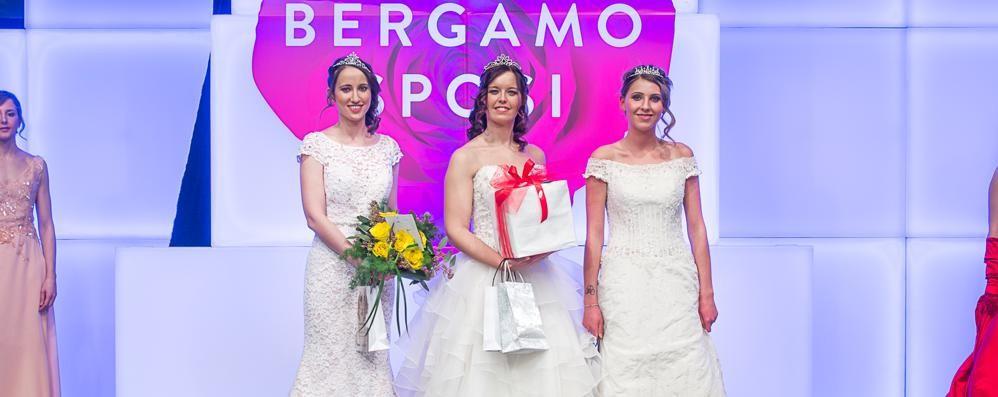 Aspettando il giorno del «sì» è Valentina miss Bergamo Sposi