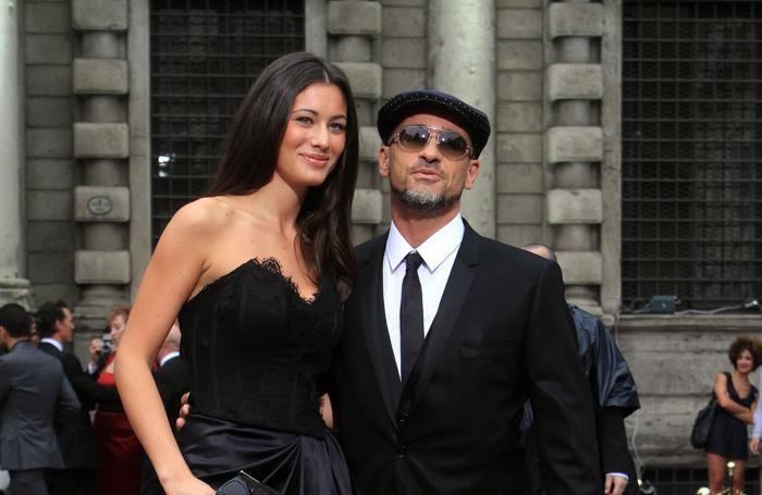 Marica Pellegrinelli con il marito Eros Ramazzotti