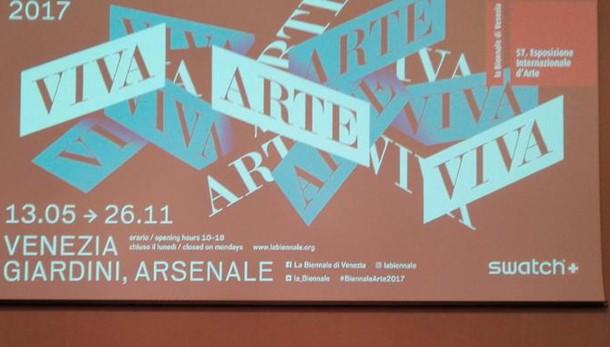 Biennale, 120 artisti per Viva Arte Viva