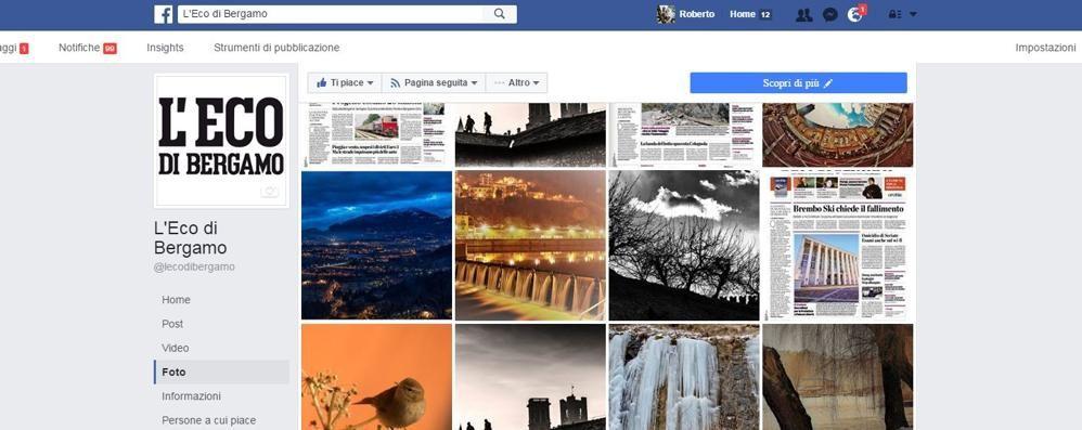 Facebook, presto una nuova funzione Si potranno cercare le foto