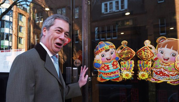 Farage e l'amante francese, solo amici
