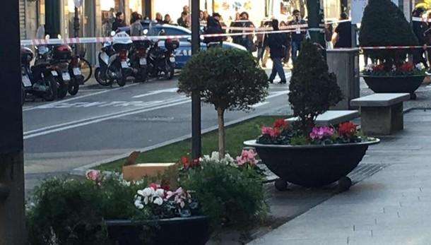 Sanremo, allarme bomba ma sono volantini