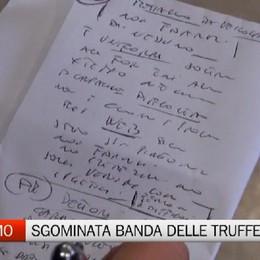 Bergamo - Smantellata banda di truffatori