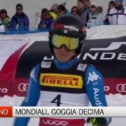 Mondiali sci alpino, Goggia decima in SuperG