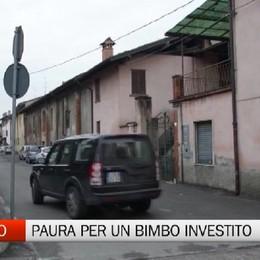 Incidente a Lurano, ferito bambino di 5 anni