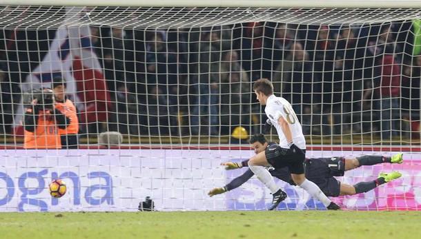 Serie A: Bologna-Milan 0-1