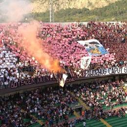 Ultima chiamata per il Palermo Contro l'Atalanta curve a 7 euro