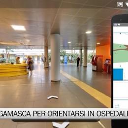 App made in Bergamo per orientarsi in ospedale