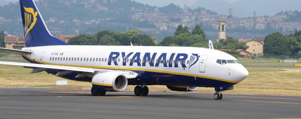 Aeroporti, Orio 5° per crescita in Italia E Ryanair è la 1ª compagnia del Paese