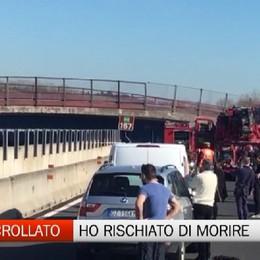 Bergamasco sfiorato dal ponte crollato ad Ancona