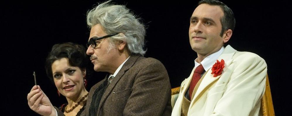 «Il Berretto a Sonagli» Al teatro Donizetti