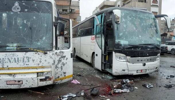 Attentato Damasco, 44 morti e 100 feriti