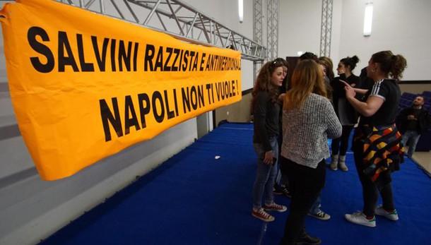 de Magistri, Prefetto ordina sì Salvini