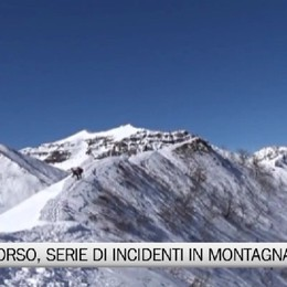 Elisoccorso, raffica di incidenti in montagna
