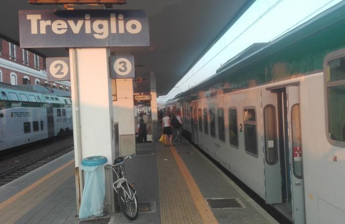 la stazione di Treviglio