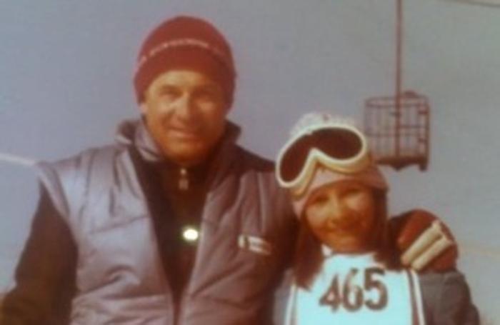 Marcellino Magoni e la figlia Lara