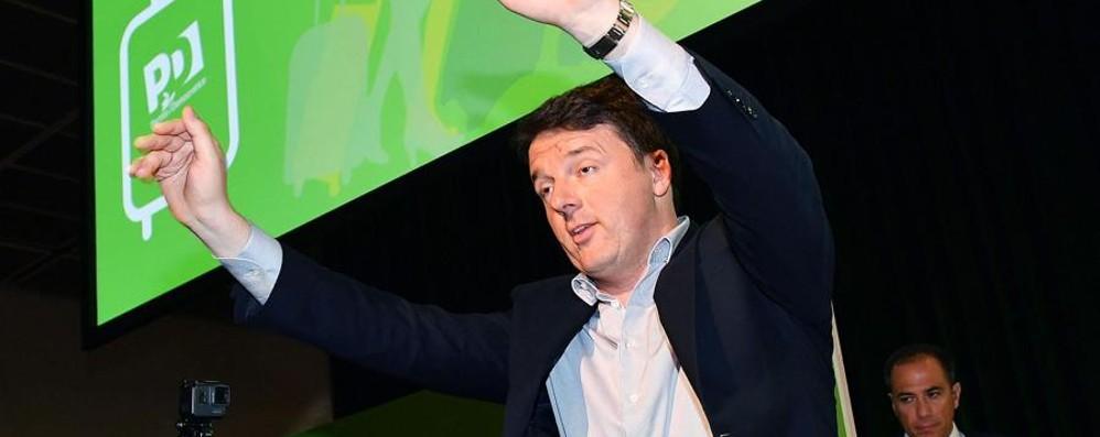 Il rilancio di Renzi Il rebus alleanze