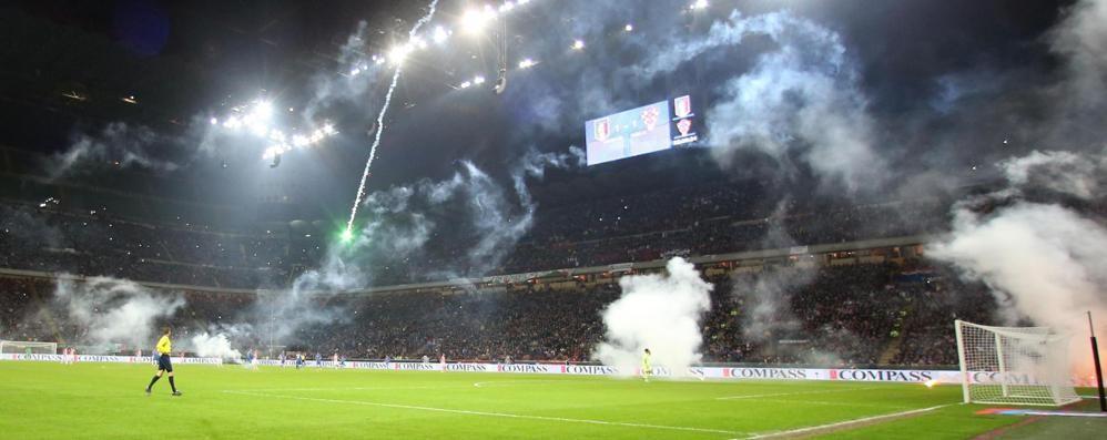 Inter-Atalanta atmosfera «caldissima» A San Siro oltre 2 mila tifosi bergamaschi