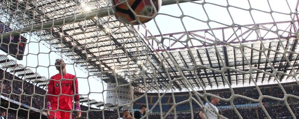 S.Siro da possibile sogno a incubo  Atalanta punita dall'Inter 7 a 1