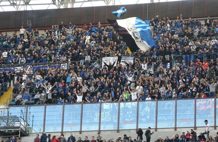Serie A TIM 2016-17 giornata 28 inter - atalanta tifosi