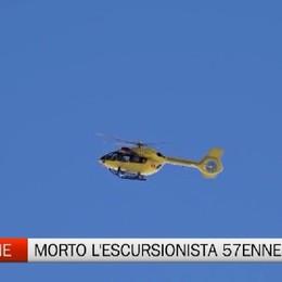 Clusone, morto l'escursionista di 57 anni caduto sabato