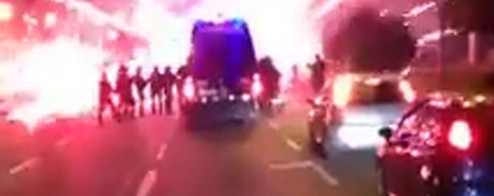 Processo scontri Atalanta-Inter Acquisito materiale  del 16 gennaio