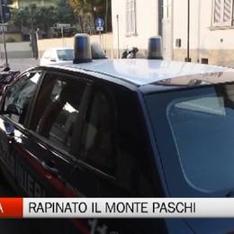 Ranica, rapina al Monte Paschi di Siena