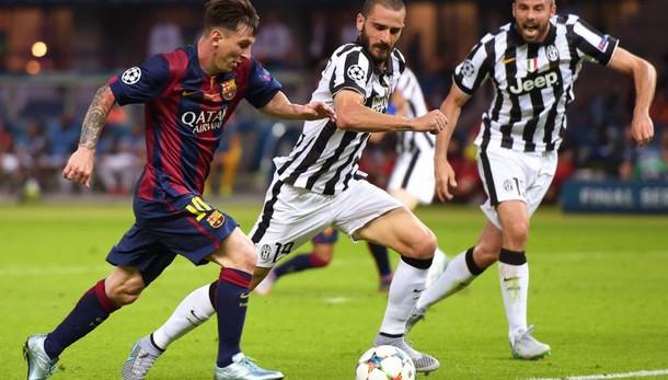 Champions: Juve pesca Barça nei quarti