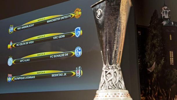 E. League: nei quarti United-Anderlecht