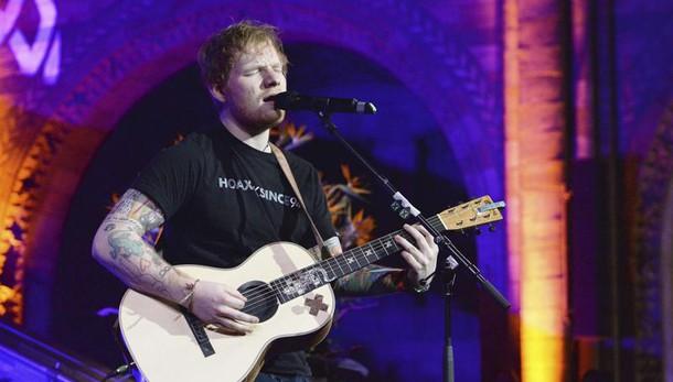 Hit parade, Ed Sheeran ancora primo