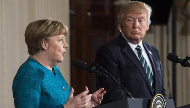 Merkel a Trump, 'guardare ai rifugiati'
