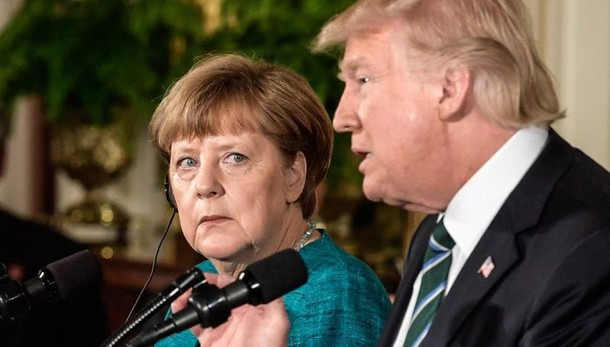 Trump a Merkel, alleati Nato paghino