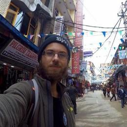 Gianluca, un anno in giro per il mondo «In viaggio con 27 euro al giorno»