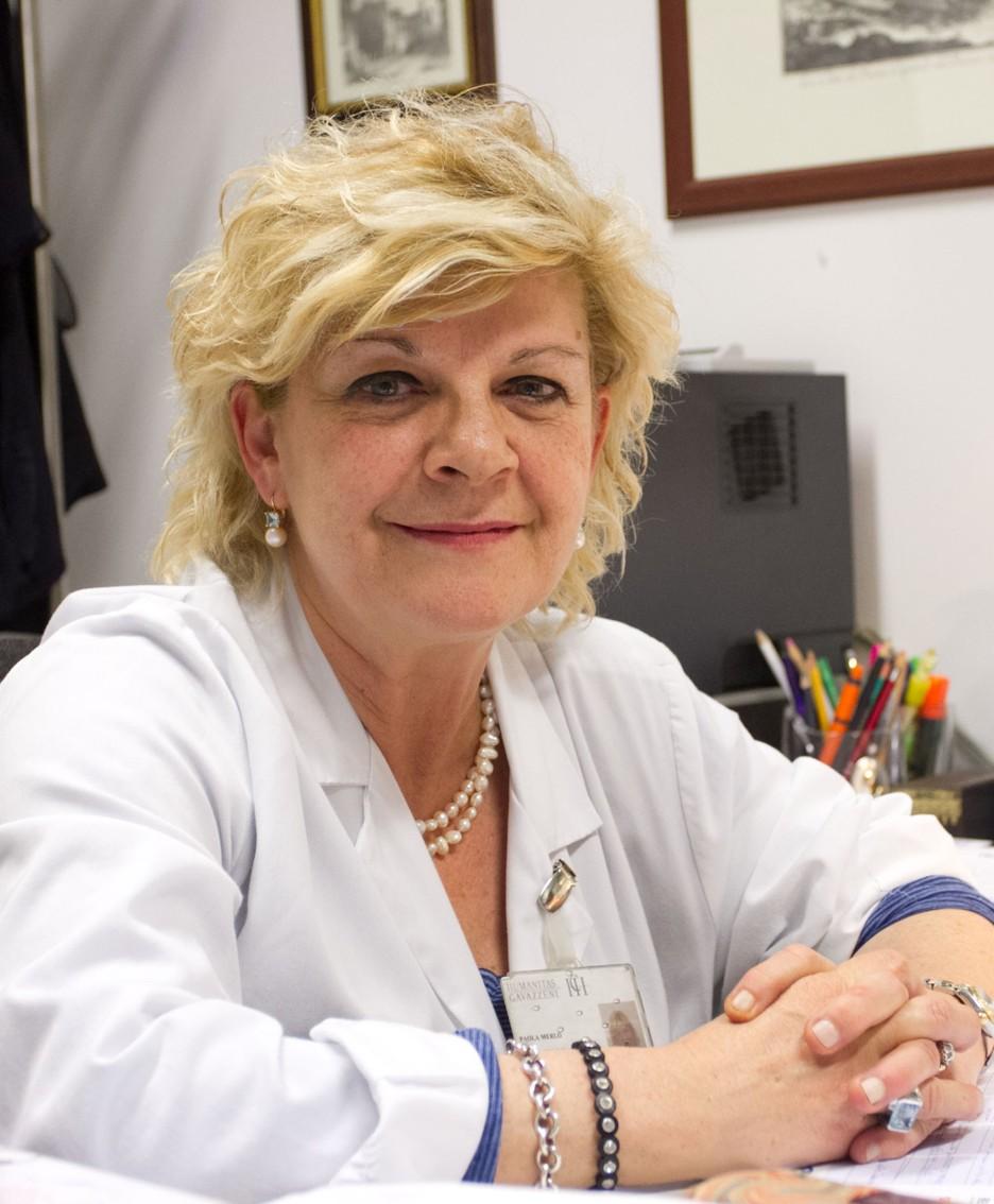 Paola Merlo, responsabile dell'Unità Operativa di Neurologia di Humanitas Gavazzeni