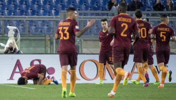 Serie A: Roma-Sassuolo 3-1