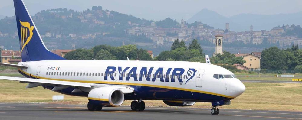 Sciopero dei controllori di volo Ryanair cancella 14 voli su Orio