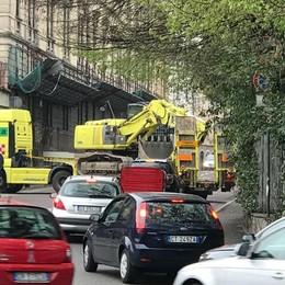 Al via i lavori alla Montelungo Due mesi di demolizioni - Foto/Video
