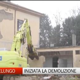 Montelungo, via alla demolizione