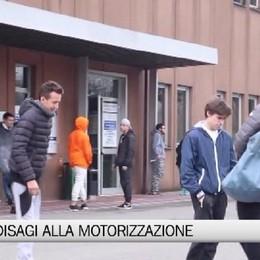 Bergamo, code e disagi alla Motorizzazione