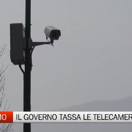 Videosorveglianza, il Governo tassa anche le telecamere