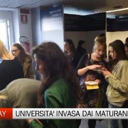 Invasione di maturandi per l'open day dell'università