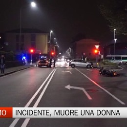 Bergamo, incidente mortale in via Carnovali