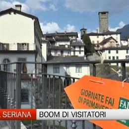 Alta Val Seriana, boom di visitatori per le Giornate FAI