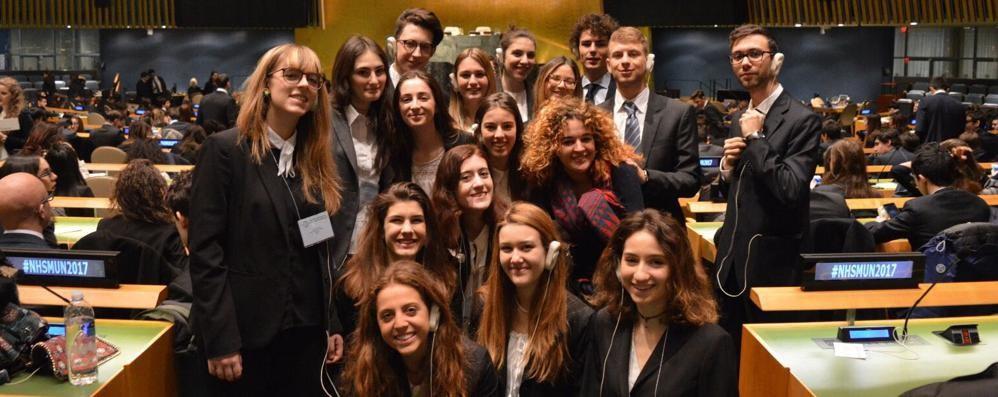Dai banchi di scuola all'Onu Giovani diplomatici crescono