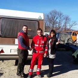 Da Curno a Norcia ed Amatrice La solidarietà sale in caravan