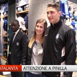 Mattia Caldara all'Atalanta Store