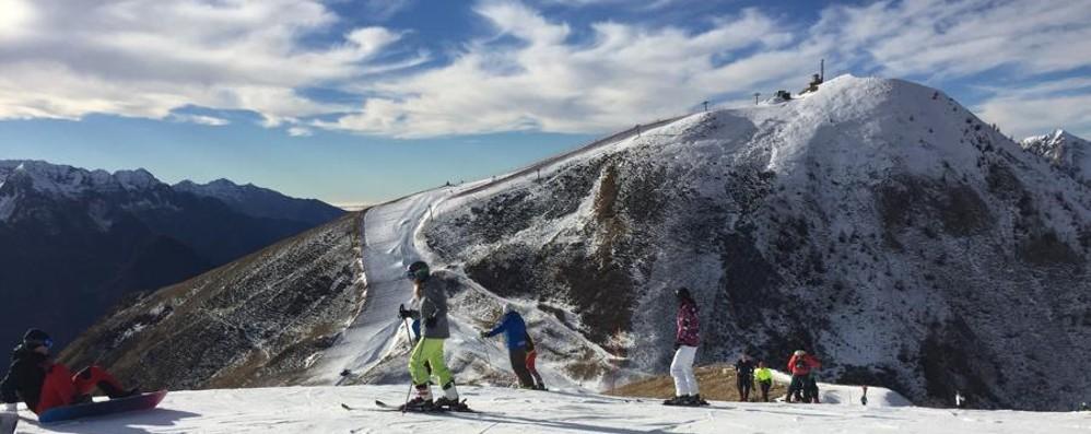 Troppo caldo, le piste da sci chiudono Resistono (forse) Lizzola e Colere